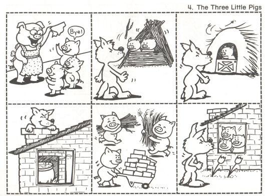 Fairy Tales | Kindergarten Nana | Three Little Pigs | Pinterest | Schule