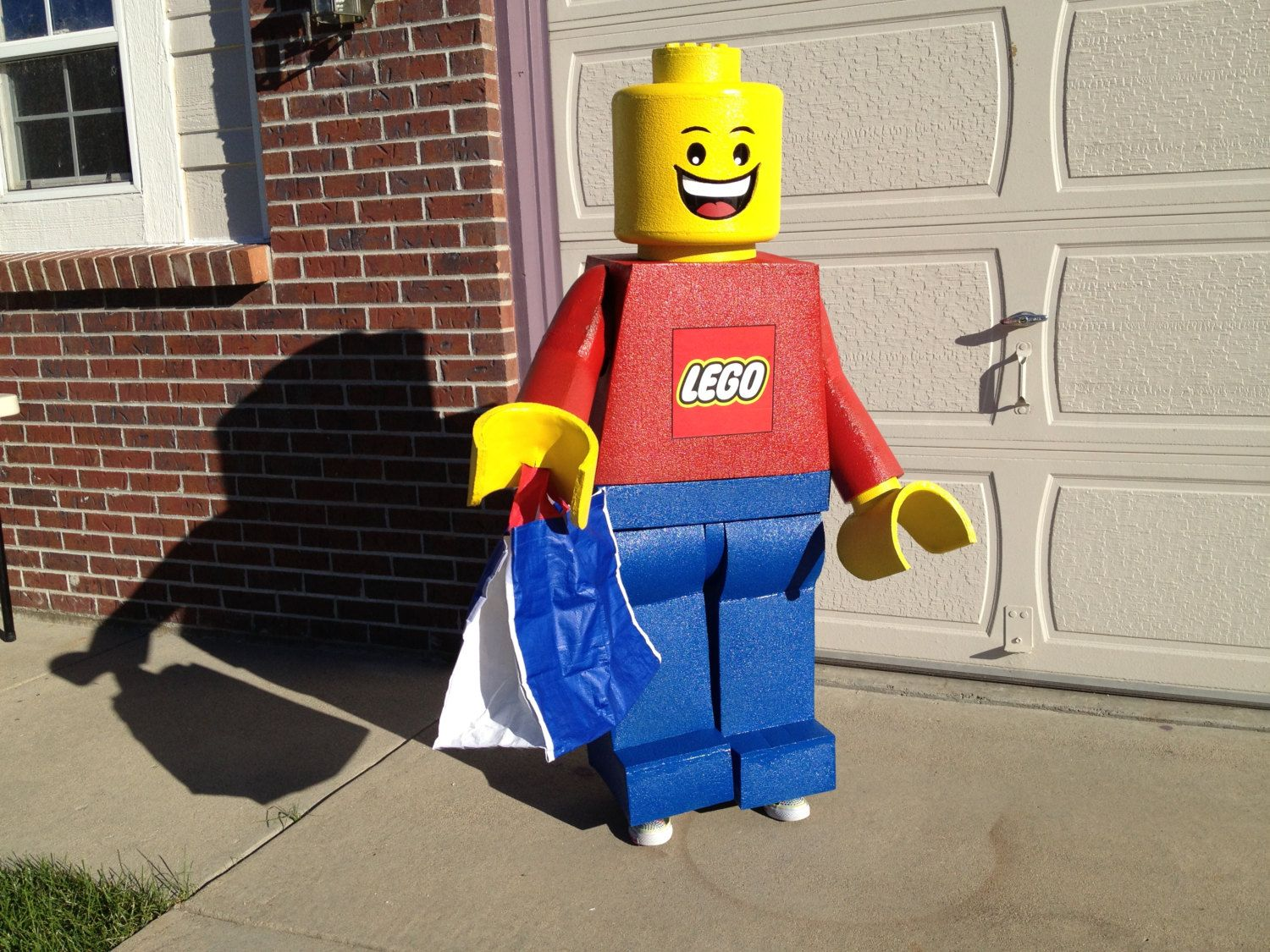 Tutorial LEGO Child Costume Minifigure. DIY patterns and instructions PDF. Easily build a highly accurate replica. Instant download & Tutorial: LEGO Child Costume Minifigure. DIY patterns and ...