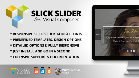 nice Slick Slider Addon for Visual Composer (Add-ons) | ThemeForest ...