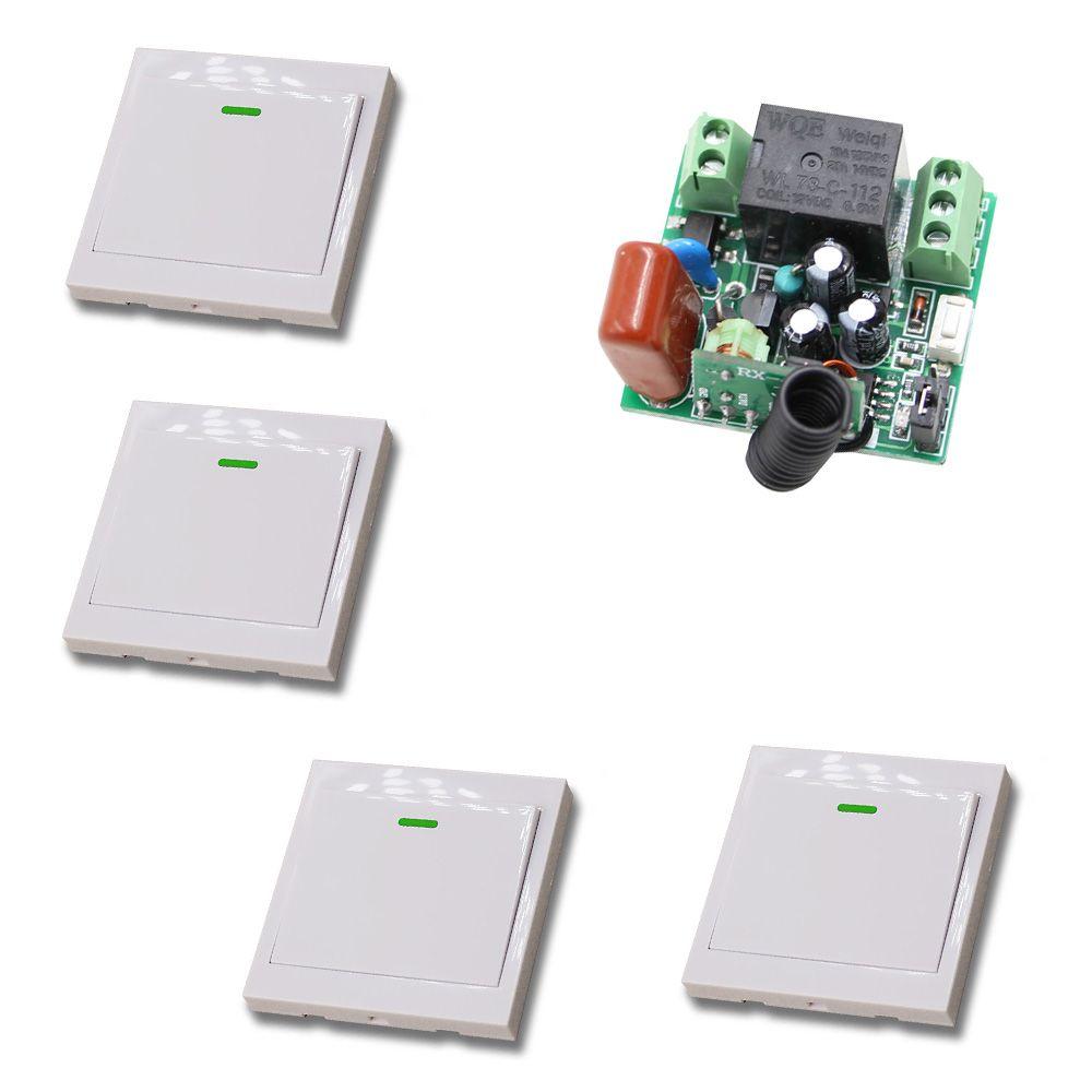 Smart Home AC220V Mini Wide Working Voltage Wireless Remote