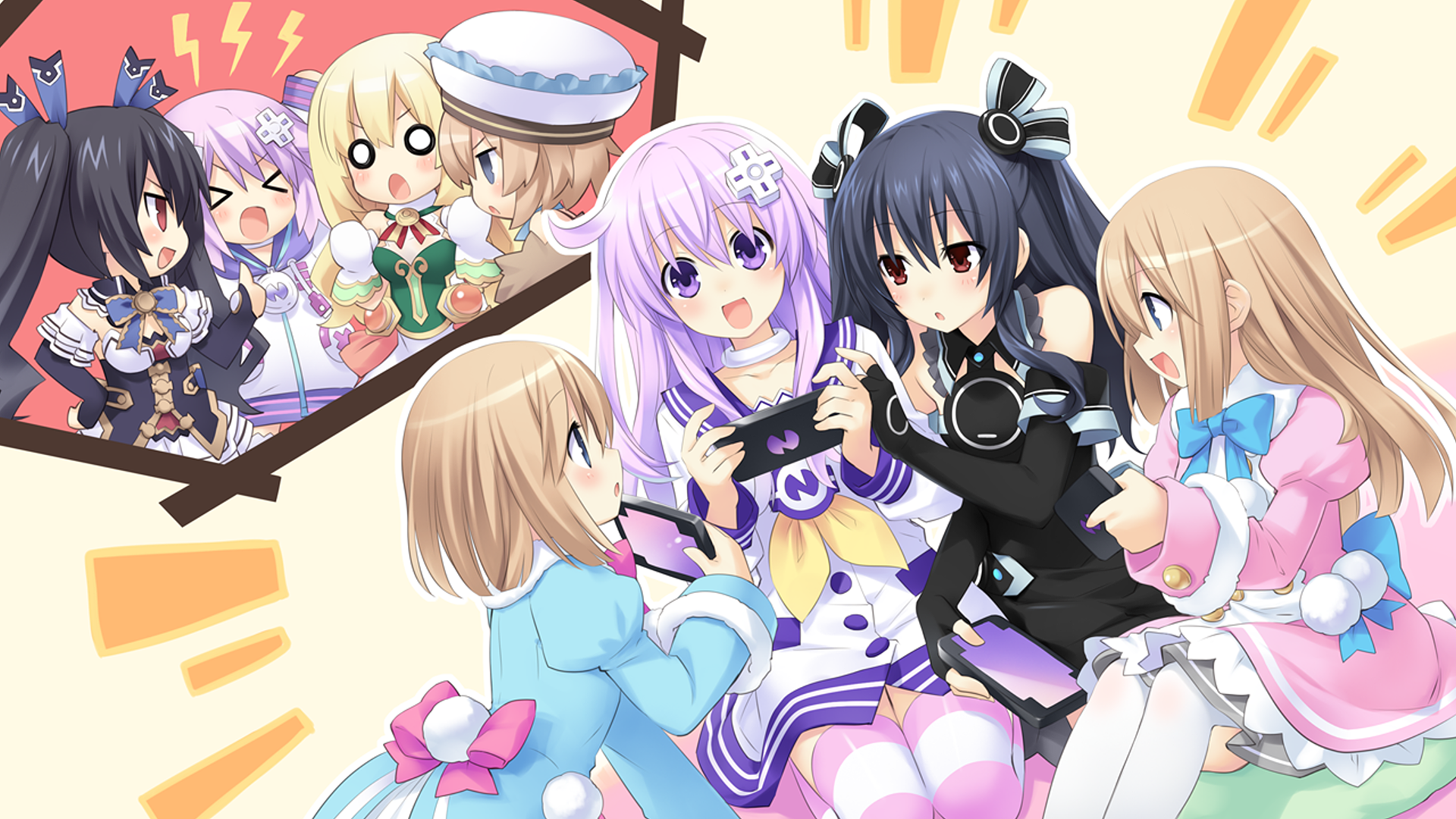 Neptunia Anime, Anime character design, Anime wallpaper