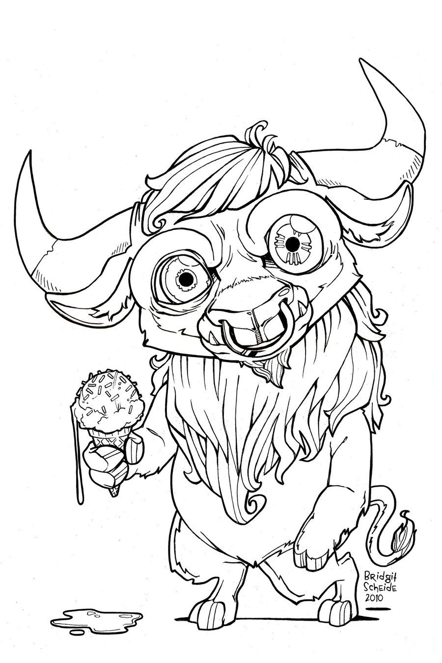Minotaur Colouring Page With Images Coloring Pages Color
