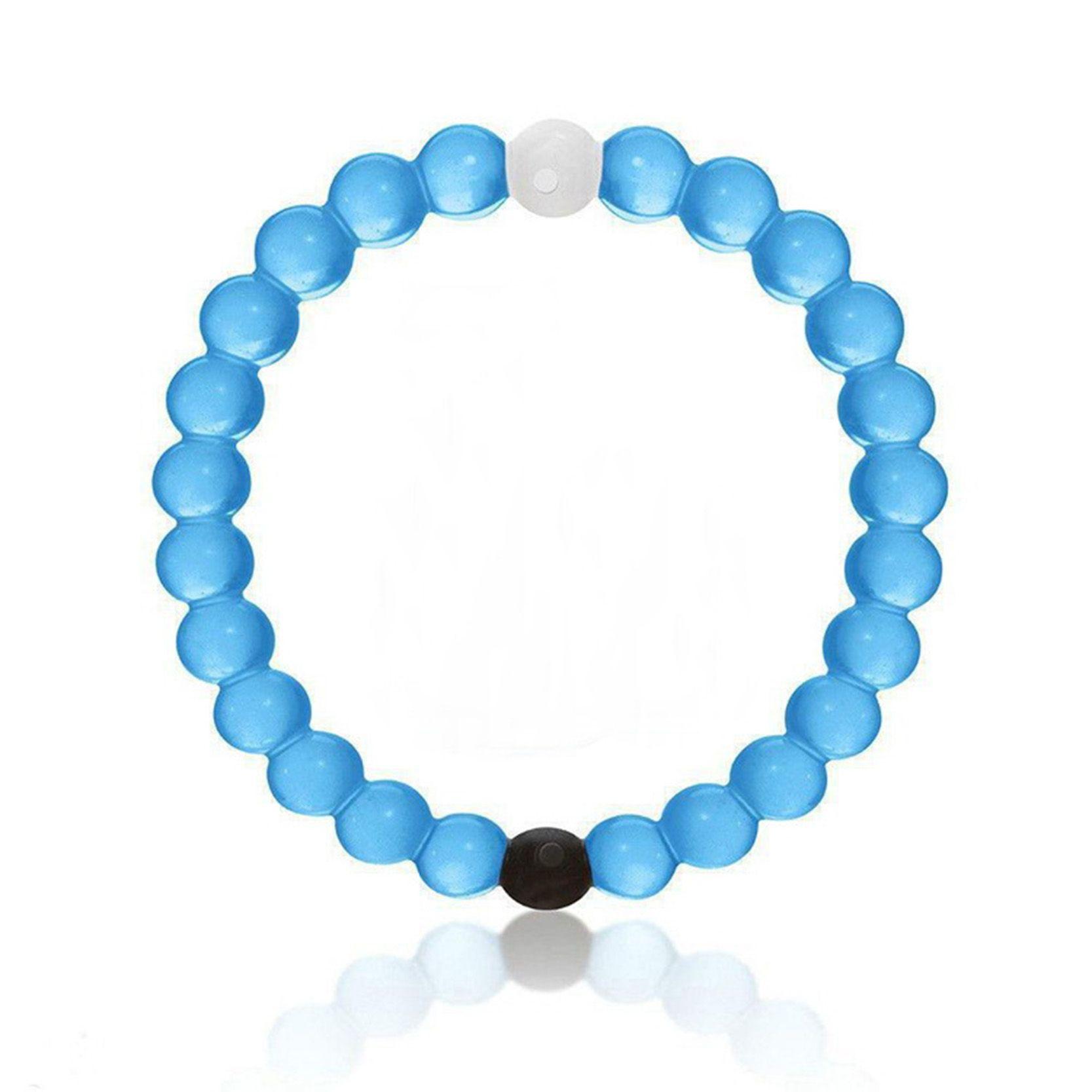 bracelet perle transparente