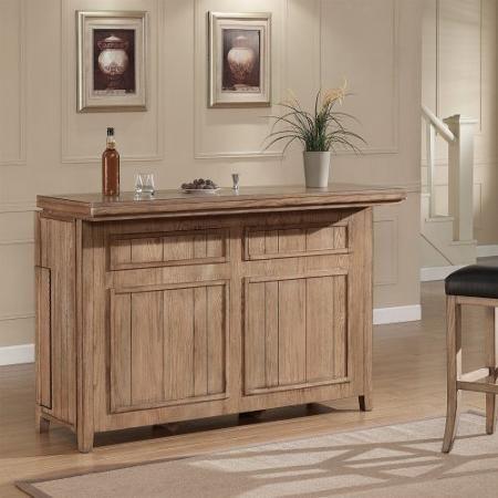 AHB Evolution Home Bar - Oak