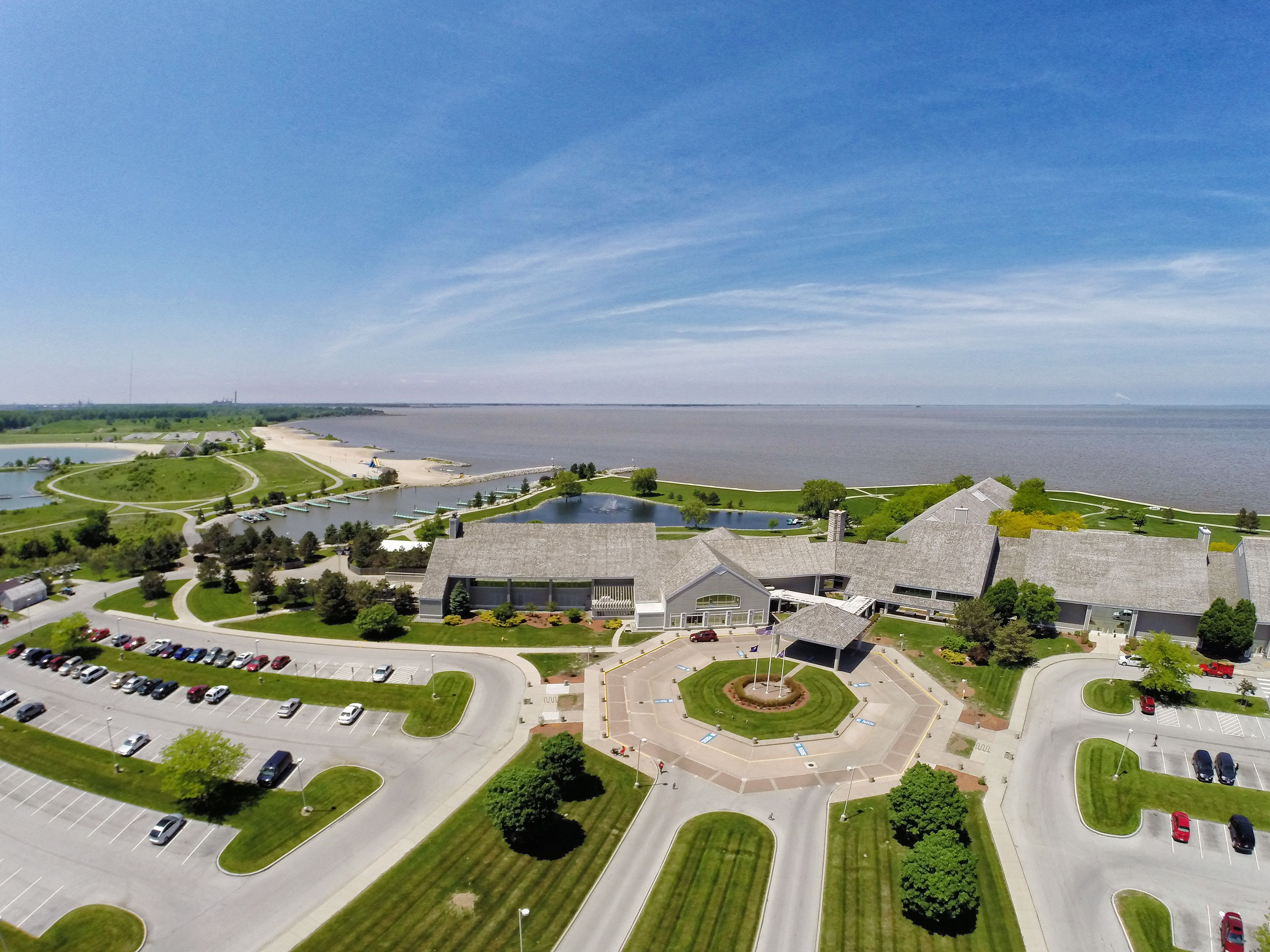 Maumee Bay State Park Lodge Ohio Great Camping Too With