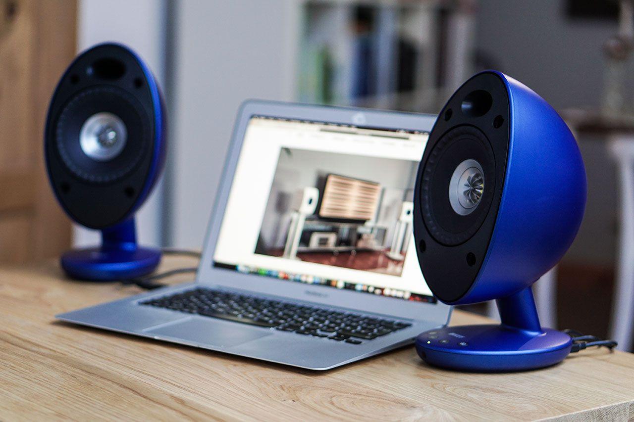 kef egg bluetooth computer lautsprecher loudspeaker. Black Bedroom Furniture Sets. Home Design Ideas