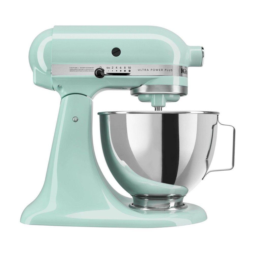 Kitchenaid Ultra Power Plus 4 5qt Tilt Head Stand Mixer Ice Blue