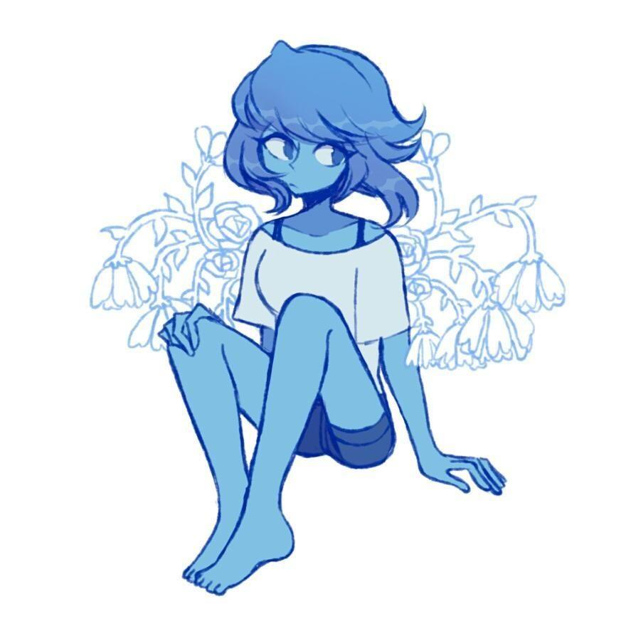 Lapis Lazuli Art Charamells On Tumblr Steven Universe Beautiful