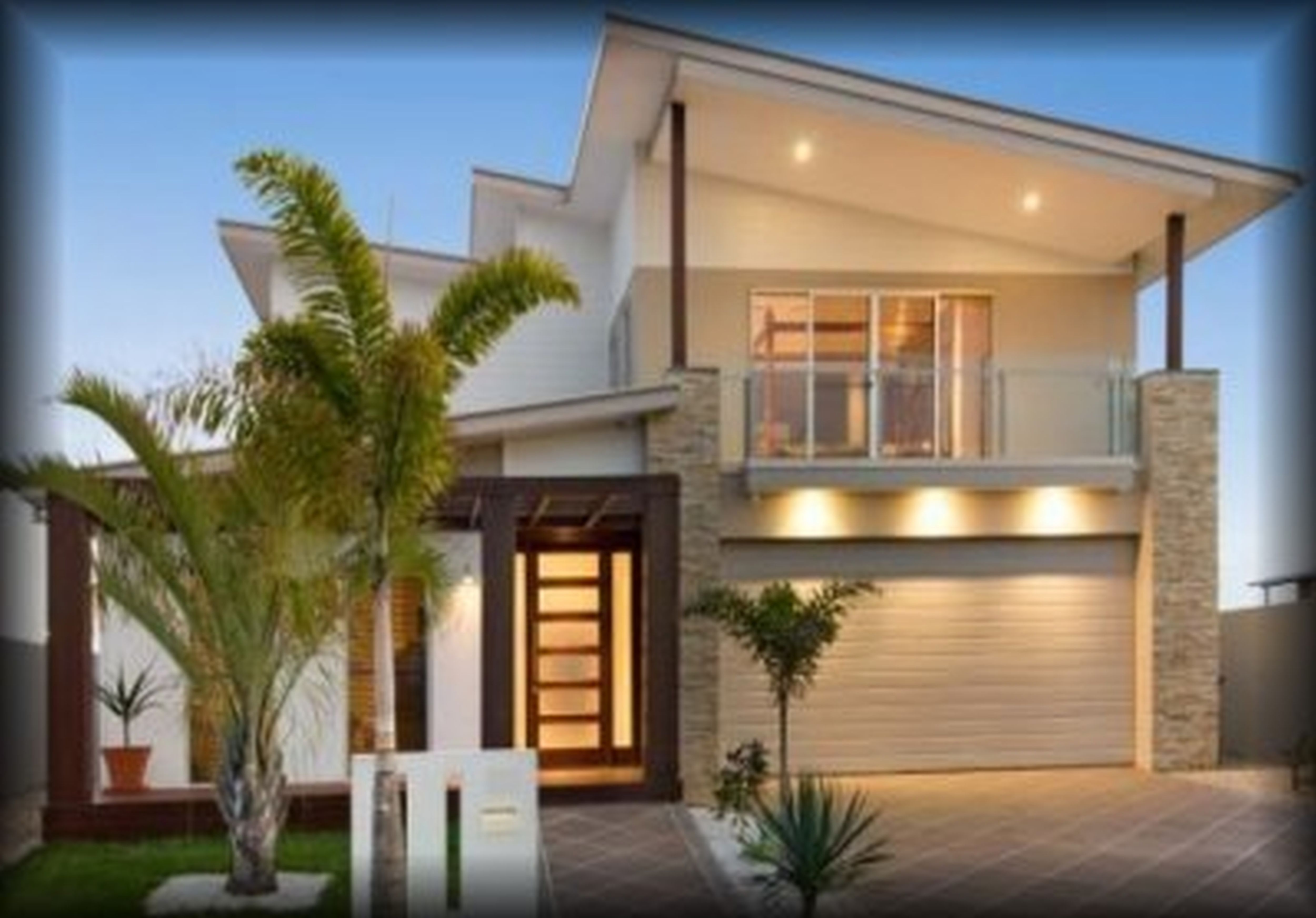 Small house design storey house designs and floor plans for Small contemporary homes