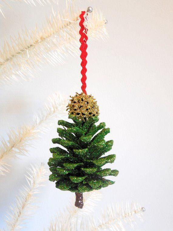 Pine Cone Christmas Tree Ornament Cone Christmas Trees Pine