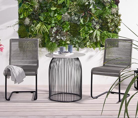 Runder Gartentisch In Betonoptik 60 X 60 Cm Online Bestellen Bei Tchibo 387348 Gartentisch Betonoptik Gartenstuhle