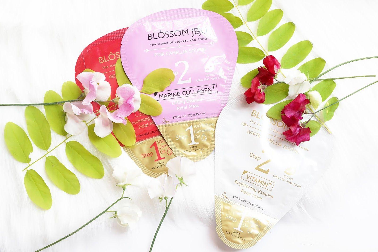 Blossom Jeju Sheet Masks