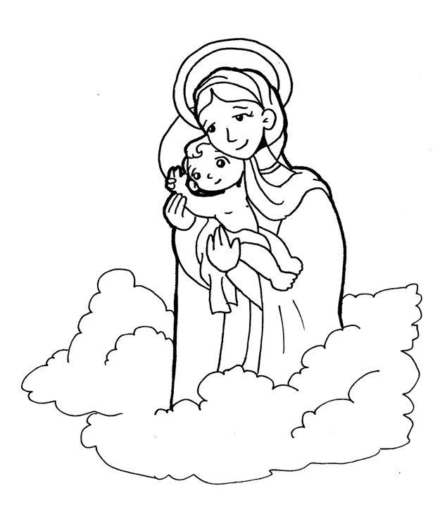 pastoral infantil para colorear Mater schoenstatt - Buscar con ...