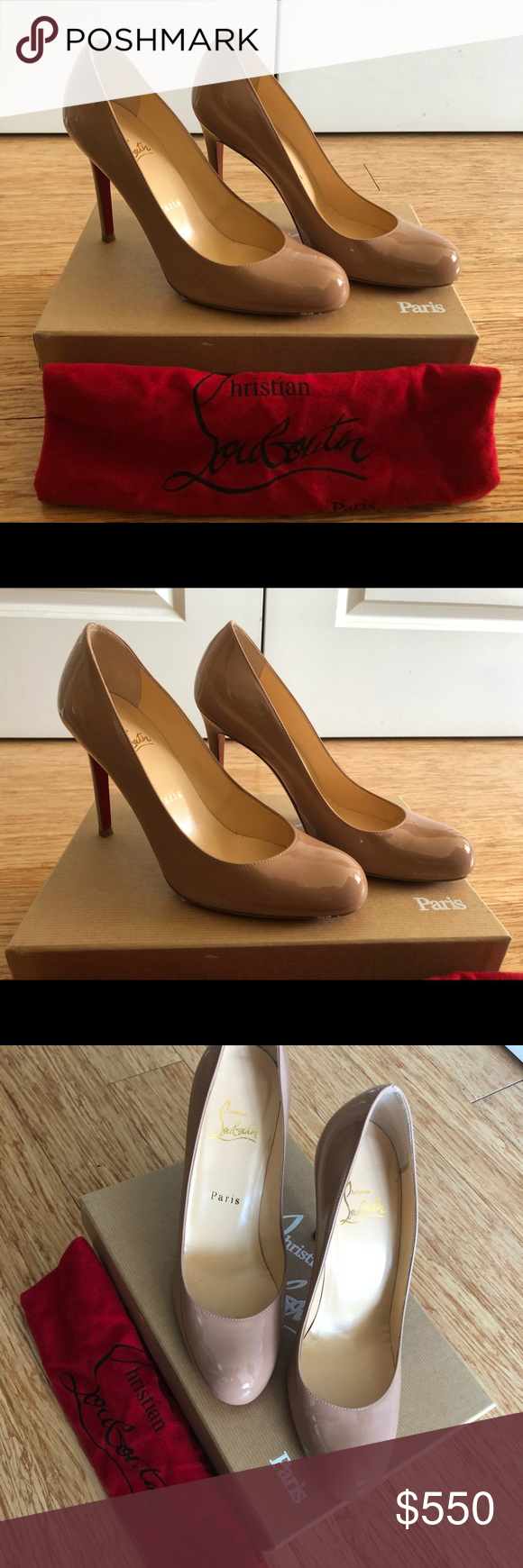 buy online 8808b 4b23d Christian Louboutin Simple Pump 100 Patent Authentic ...
