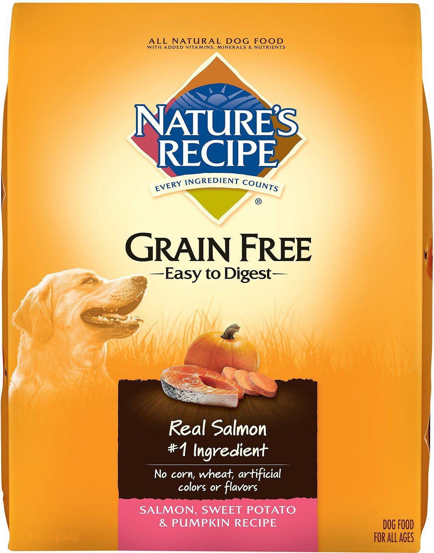Nature S Recipe Grain Free Salmon Sweet Potato Pumpkin Recipe