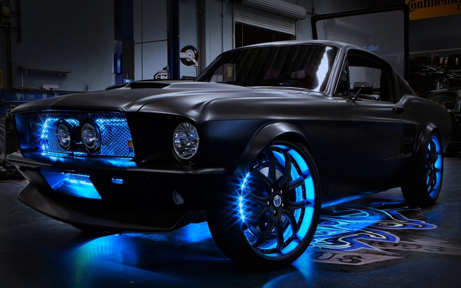 West Coast Customs took a 2012 Ford Mustang and retrofitted it with a 1967 Mustang fastback replica body. They painted the car matte black and decked it ... : the best ford car - markmcfarlin.com