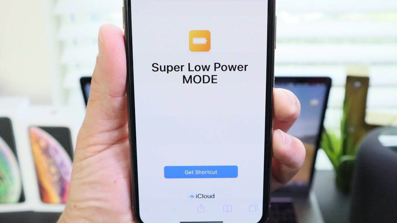How to enable super low power mode in ios 12 siri shortcut