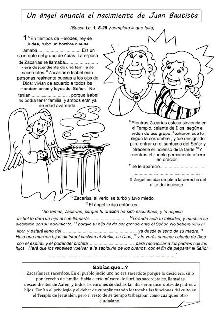 El Evangelio Para Completar Juan Bautista Y Primeros Pasos De Jesús Estudios Bíblicos Para Niños Juan El Bautista Historias De La Biblia Para Niños