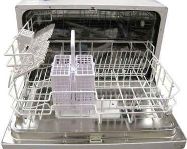 Sunpentown Sd2201w Full Console Countertop Dishwasher With 6 Place