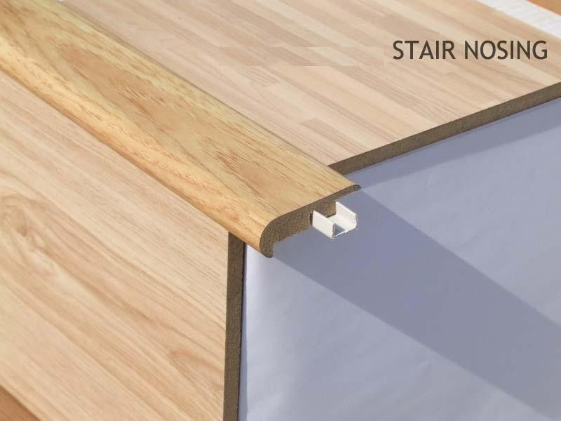 Stair Nosing Profile For Laminate Flooring To Match For the