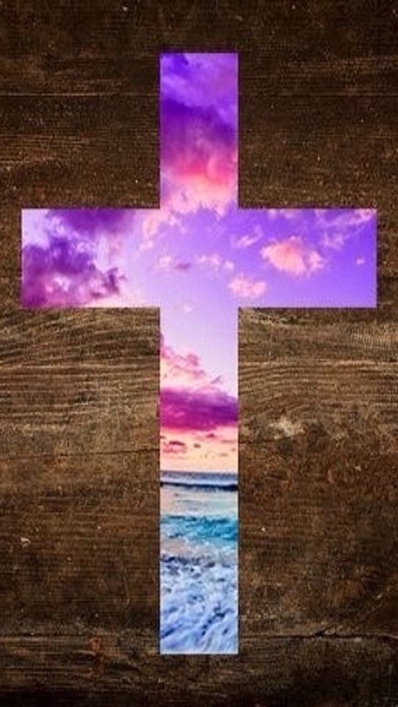 iPhone Wallpaper Easter tjn in 2019 Cross wallpaper