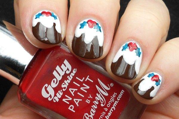 Advent Tutorial: Christmas Present Nail Art