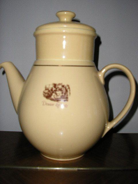 Uitgelezene Douwe Egberts koffiepot met filter | Holland - Koffie café, Koffie WB-68