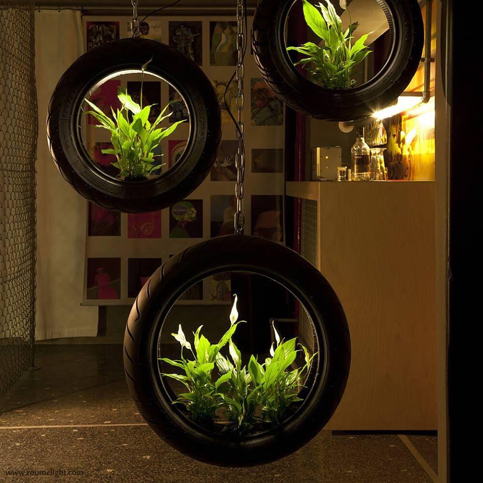 Pot De Fleur Avec Des Pneus how to get started growing vegetables in tires | reciclaje