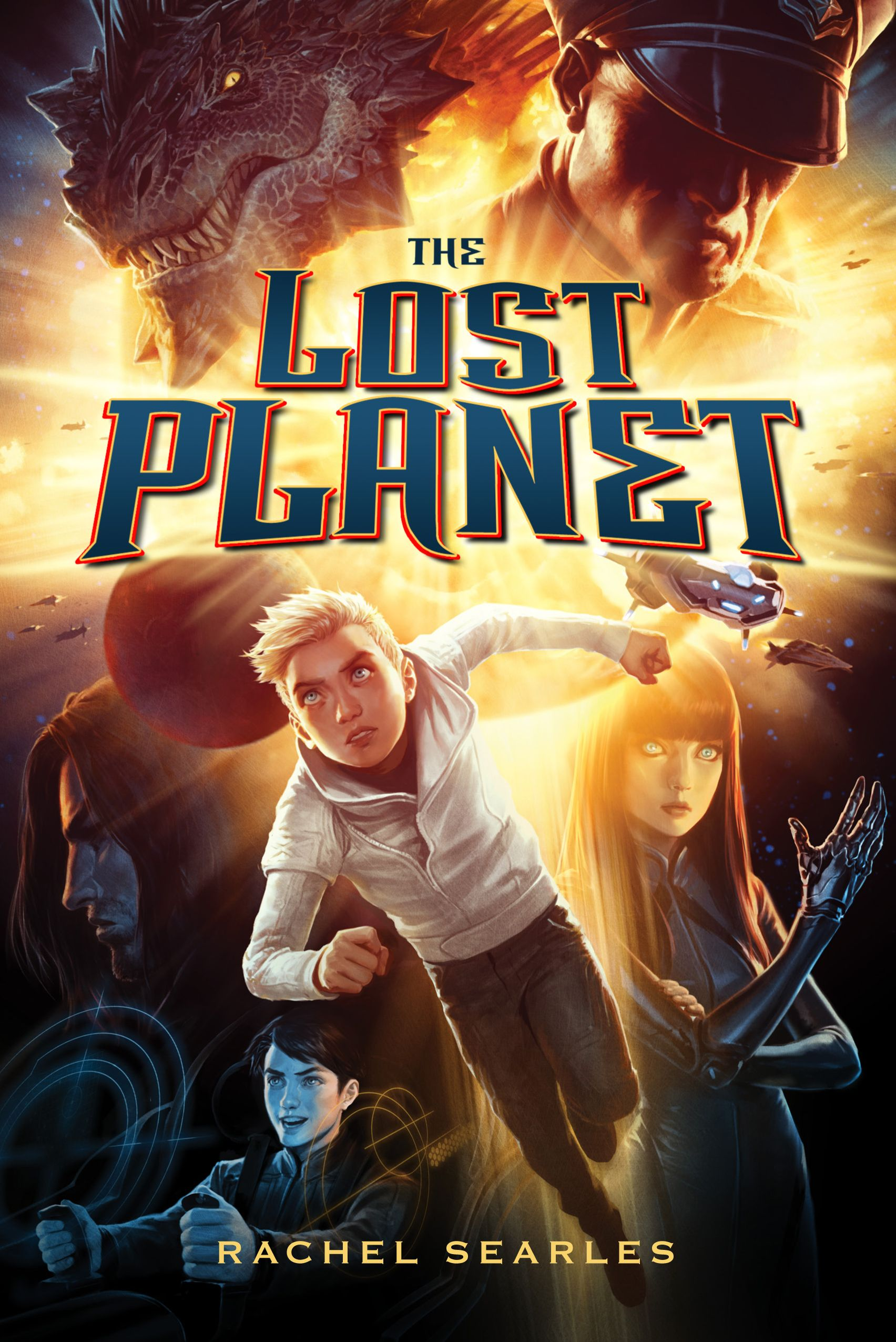 Interview with Rachel Searles, author of Lost Planet.