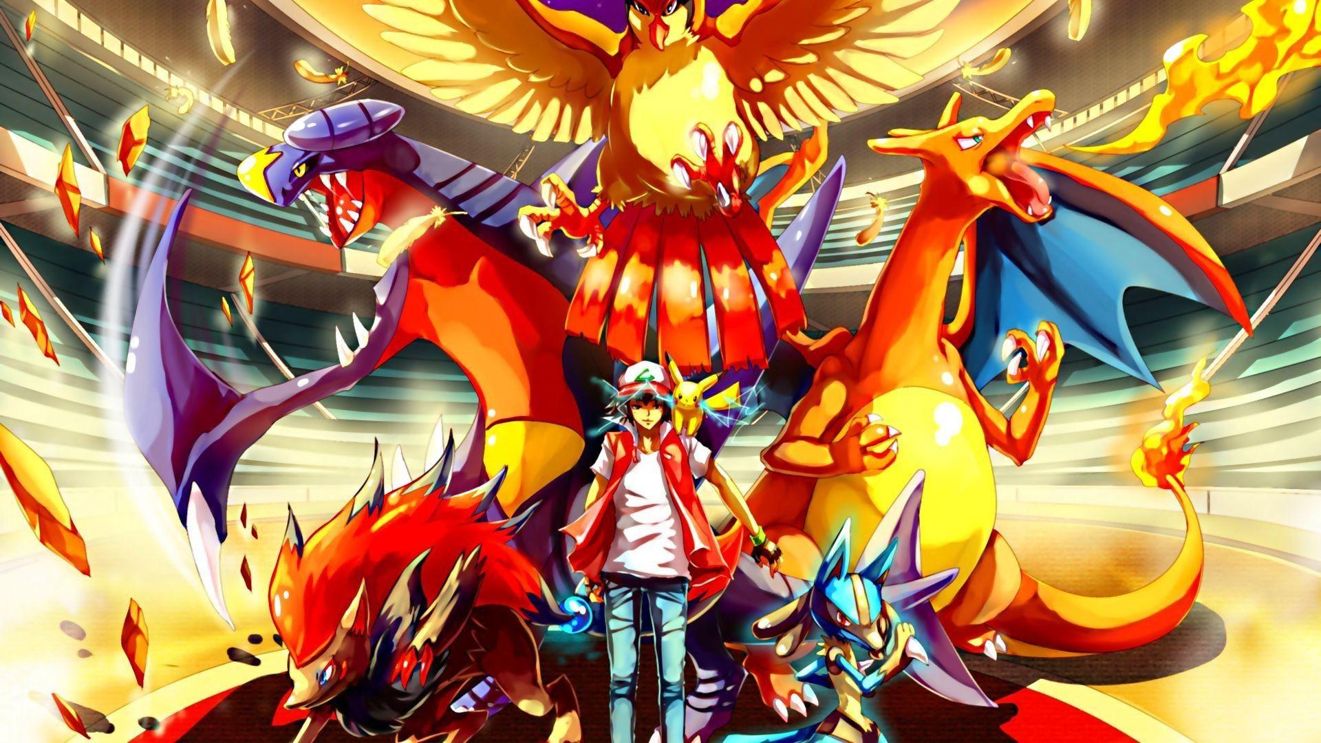 Res 1920x1080 Pokemon Wallpaper All Legendary 3d 379334
