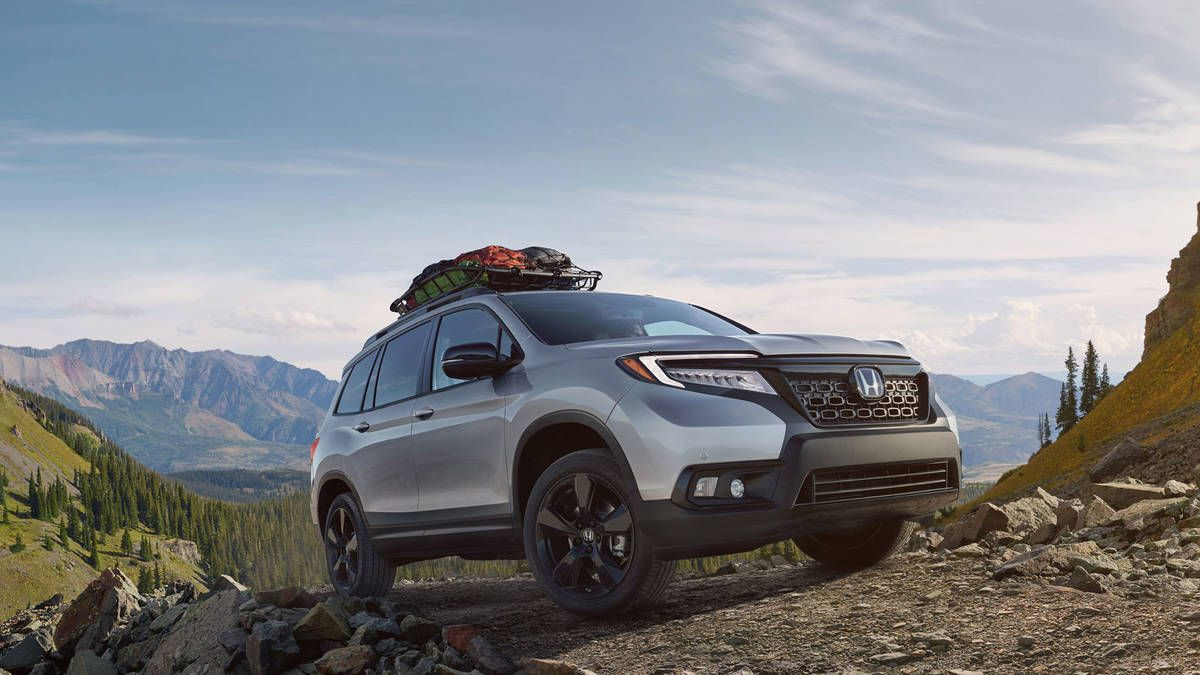 The 2019 Honda Passport looks ready to overland at the LA