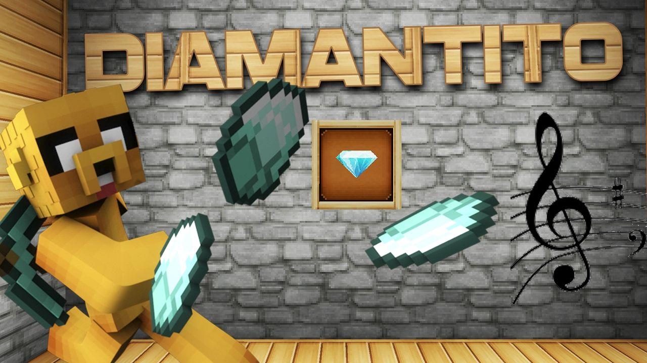Diamantito Parodia Musical Minecraft Mikecrack Luis Fonsi