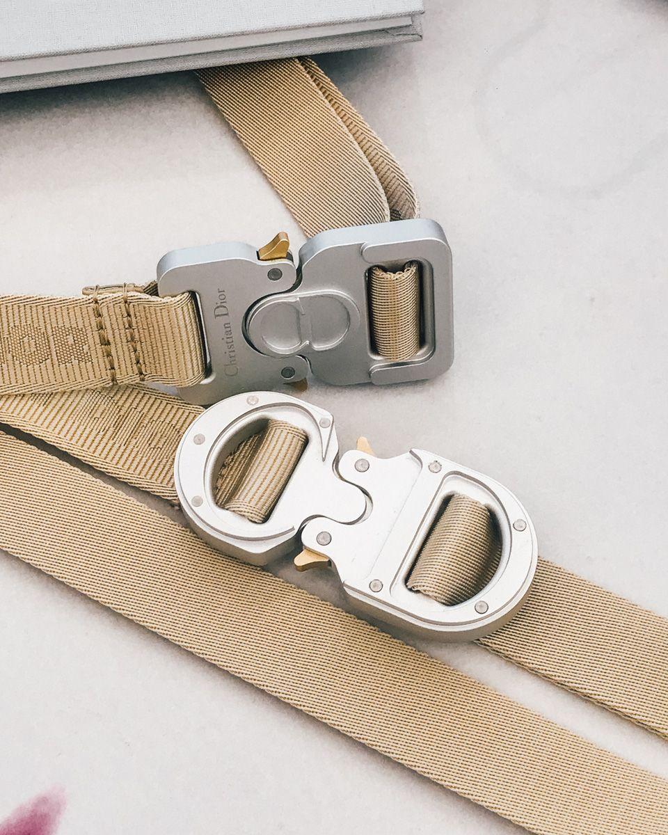 Heavy Metal Loop Ring Webbing Strap Bag Making Purse Handbag Chrome Hoop Buckle