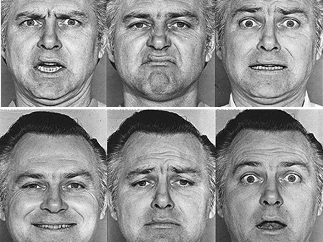 Микровыражения лица в картинках