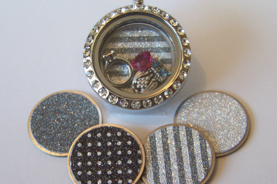lockets plates all sizes for floating lockets.