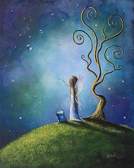 All Artwork - I Do Believe In Fairies by Shawna Erback by Shawna Erback
