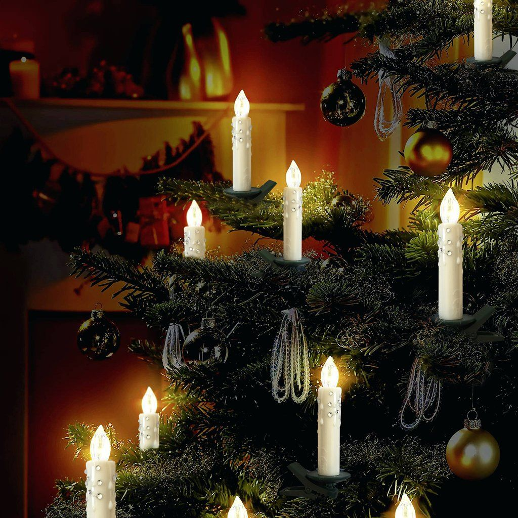 Christmas Flameless Candle Light Remote Control