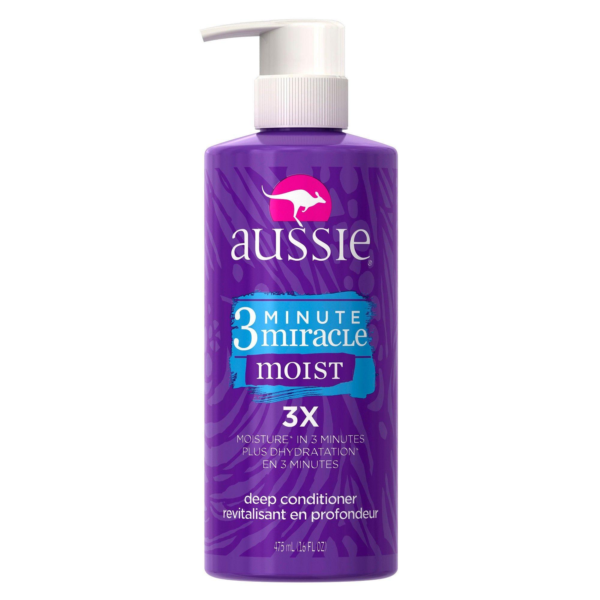 Aussie 3 Minute Miracle Moist Deep Conditioner 16oz