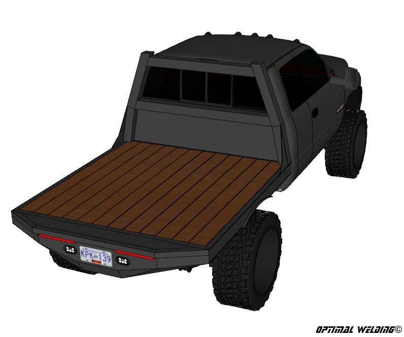 94 02 Dodge Short Box Srw Flatbed Plans Truck Flatbeds Custom Truck Beds Flatbed Truck Beds