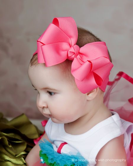 Sweet   Spoiled Big Double Boutique Baby Headband - 4575  a4865ec7655