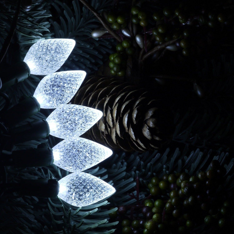 Led Christmas Lights 60 Faceted Led String Lights Set C6