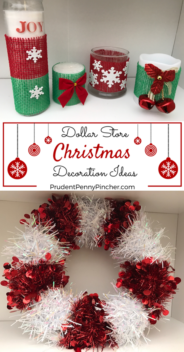 DIY Dollar Store Christmas Decorations Dollar store
