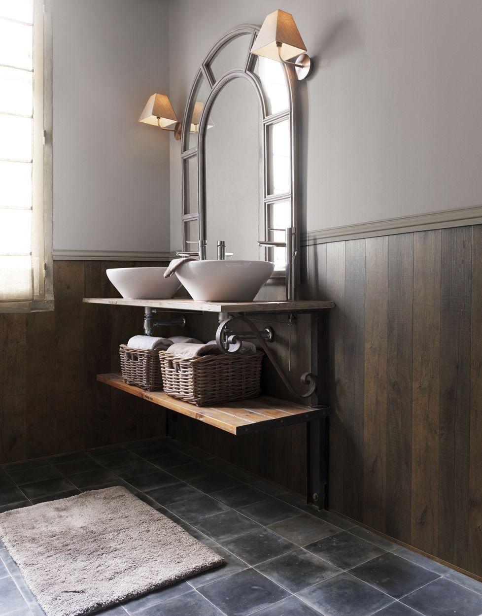 Salle de bain rustique images