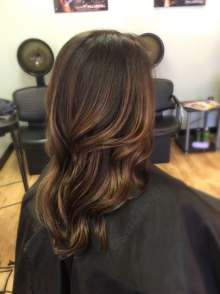 Easy Maintenance Balayage Highlights For Brunettes Ash Salted Caramel Highlights For Dar Brunette Hair Color Fall Hair Color For Brunettes Balayage Brunette