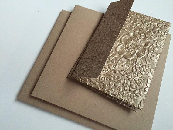 Wedding Invitation Envelopes - Super Heavy Weight Kraft invitation - wedding rsvp envelope size