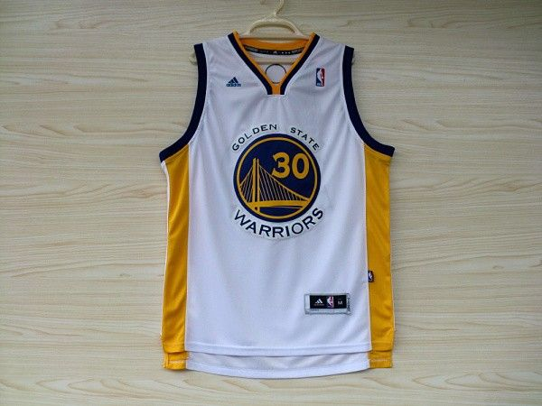 Adidas Stephen Curry Golden State Warriors Replica Jersey - White ... 0d92dcf99542