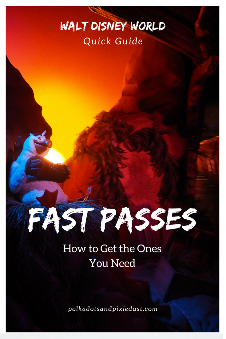 Fast Passes at Walt Disney World: A Quick Guide