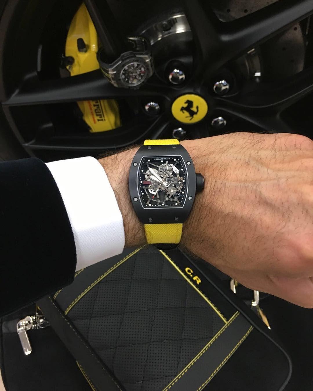 Pin By Maffbags On Yang Saya Simpan Richard Mille Ferrari Casio Watch