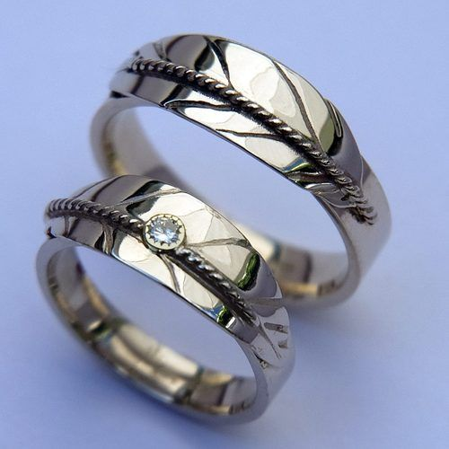 Native American Wedding Ring Native American Wedding Rings Are Growing In Popularity As Symb Native American Wedding Rings Wedding Rings Feather Wedding Ring