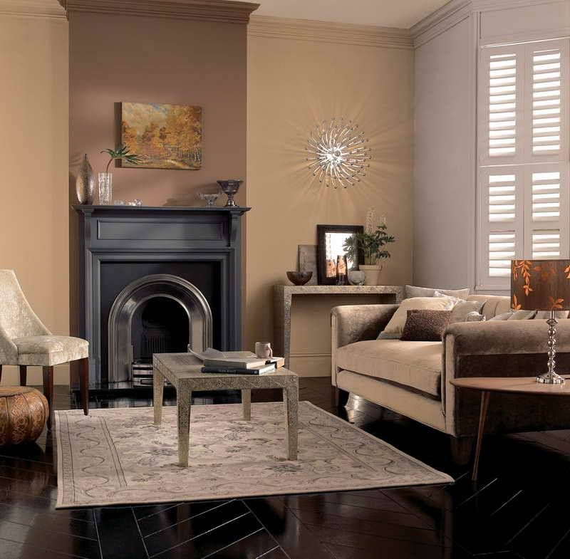 Caramel Color Paint Living Room 17 Cream Walls With Dark Wood Floor Living Room Remodel